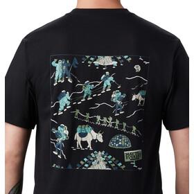 Mountain Hardwear Hotel Basecamp Camiseta Manga Corta Hombre, black